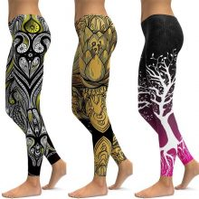 LI-FI Print Yoga Pants Women