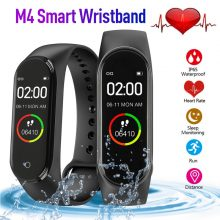 M4 Smart Watch Men and Women Heart Rate Monitor Blood Pressure Fitness Tracker pedometer