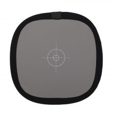 "12"" Inch 30CM 18% 2in1 camera Grey Card Reflector White Balance Double Face Focusing Board"