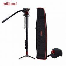 miliboo MTT705A Aluminum Portable Fluid Head Camera Monopod for Camcorder and DSLR