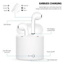 i7s Handsfree in ear Bluetooth Earphones music Headset Works on all smartphones and IOS
