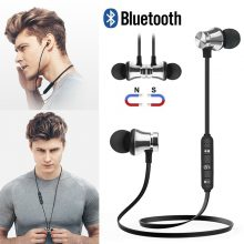 Wireless Bluetooth Earphones Stereo Sports With Mic