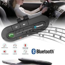 Hands Free Bluetooth Car Kit FM Wireless Bluetooth Speaker Phone MP3 Music Player Sun Visor